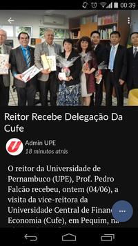 UPE em Foco apk screenshot