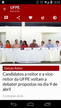 UFPE Notícias apk screenshot