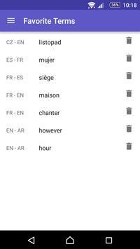 WordReference.com dictionaries apk screenshot