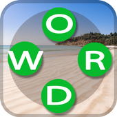 Sun Word: A word search and word guess game icon