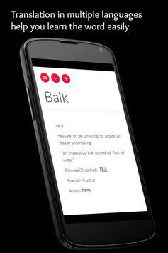 Improve Vocabulary - 5 Words screenshot 1
