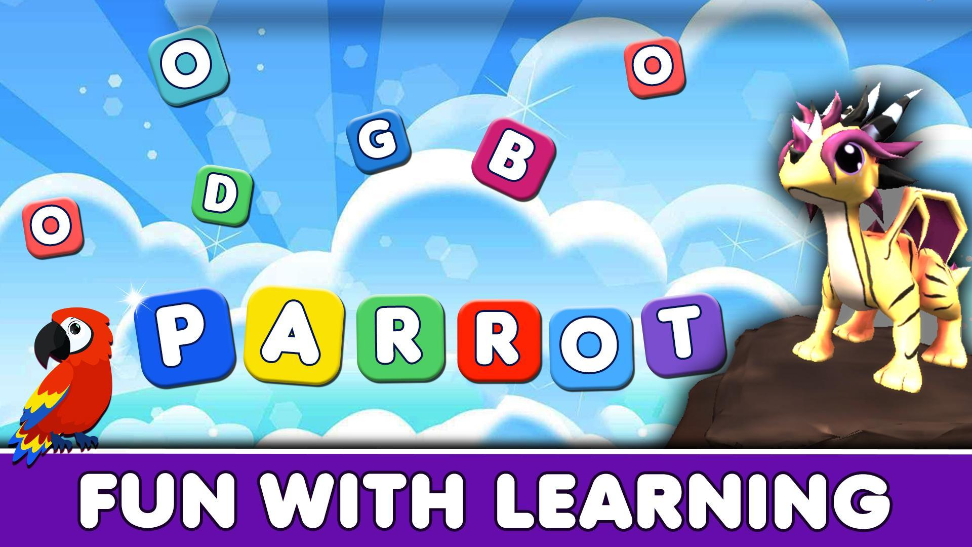 Flying Dragon Adventure Word Learning 3D Games For Android