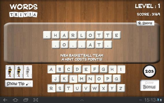 Words Trivia screenshot 3