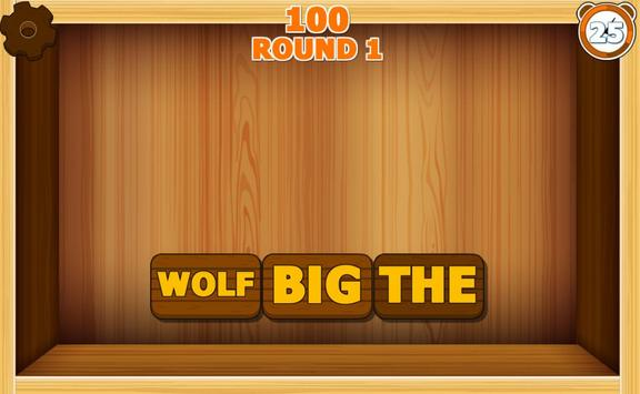 Handy  Scrambled Words  game screenshot 1