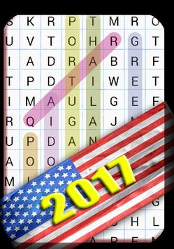 word search usa 2017 R1 poster