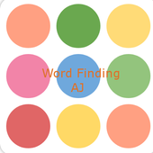 Words Finding icon
