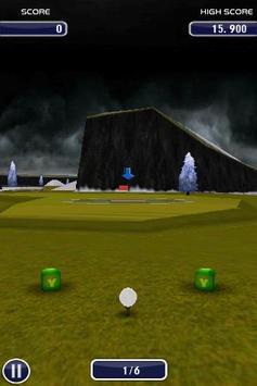 Golf 3D poster