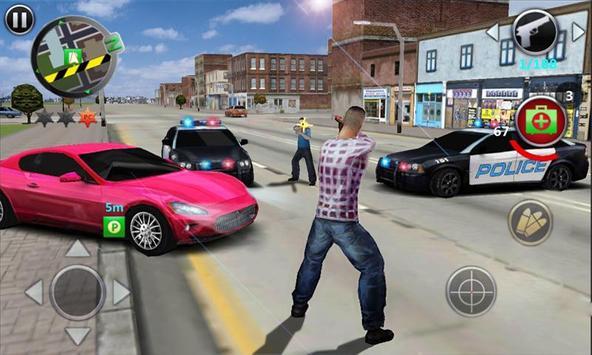 Poster Gangster estremo 3D