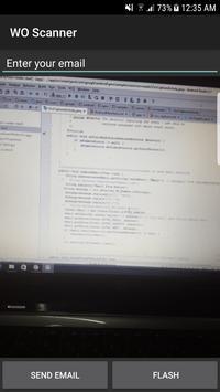 Work Order Scanner screenshot 1