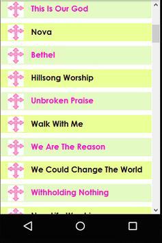 Best Worship Songs Ever screenshot 1