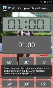 Workout stopwatch and timer screenshot 5