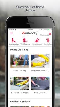 Workeefy  - Instant Home Service poster