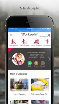 Workeefy  - Instant Home Service screenshot 2