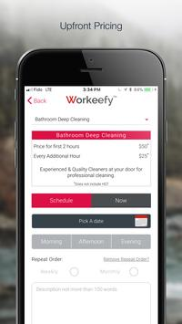 Workeefyer - Service Professional screenshot 1