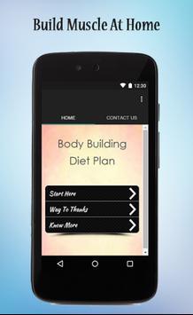 Bodybuilding Diet Plan Guide poster