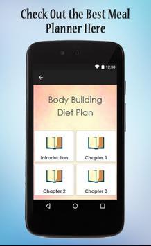 Bodybuilding Diet Plan Guide screenshot 1