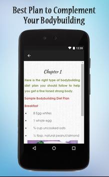 Bodybuilding Diet Plan Guide screenshot 2