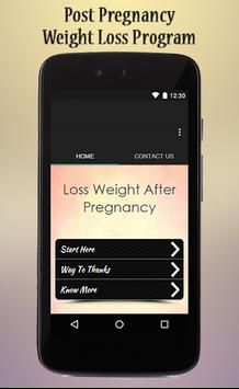 Lose Weight After Pregnancy poster
