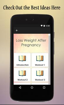 Lose Weight After Pregnancy screenshot 1