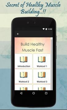 Build Healthy Muscles Fast screenshot 1