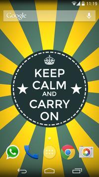 Keep Calm - Live Wallpaper poster