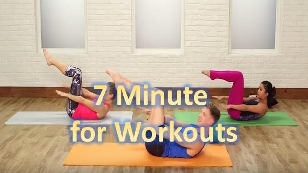 7 minutes for workout apk screenshot