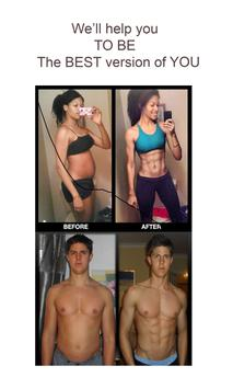 30 Day Abs Workout Challenge - How to get six pack poster