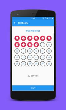 30 Day Abs Workout Challenge - How to get six pack screenshot 2