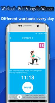 Fitness Challenge Legs Workout 30 day screenshot 4