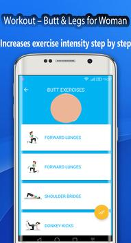 Fitness Challenge Legs Workout 30 day screenshot 5