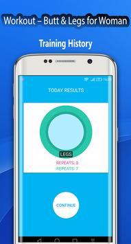 Fitness Challenge Legs Workout 30 day screenshot 1
