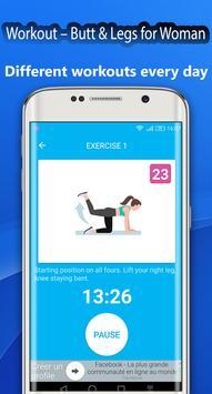 Fitness Challenge Legs Workout 30 day screenshot 2