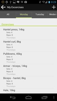 Workout Helper apk screenshot