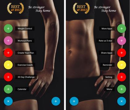 Home Workouts - For Men & Women poster