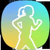 New Samsung Health guide icon