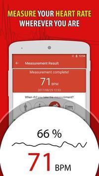 Heart Rate Monitor Pulse Checker:  BPM Tracker poster