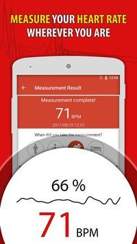 Heart Rate Monitor Pulse Checker:  BPM Tracker screenshot 10