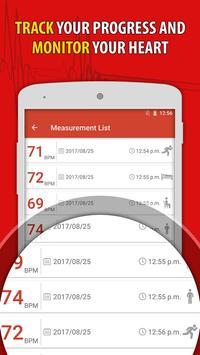 Heart Rate Monitor Pulse Checker:  BPM Tracker screenshot 12