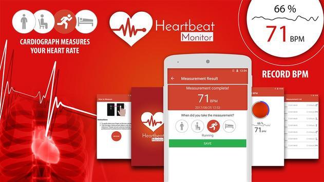 Heart Rate Monitor Pulse Checker:  BPM Tracker screenshot 14