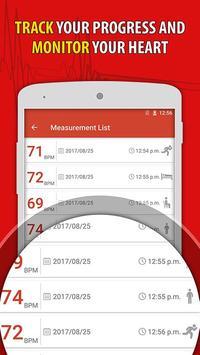 Heart Rate Monitor Pulse Checker:  BPM Tracker screenshot 2