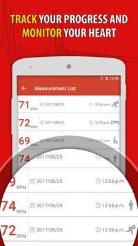 Heart Rate Monitor Pulse Checker:  BPM Tracker screenshot 7