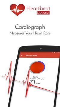 Heart Rate Monitor Pulse Checker:  BPM Tracker screenshot 8