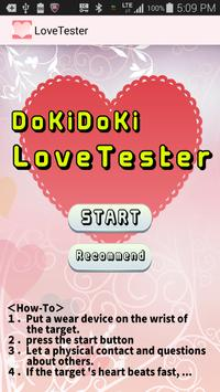 Heart Rate Love Tester poster