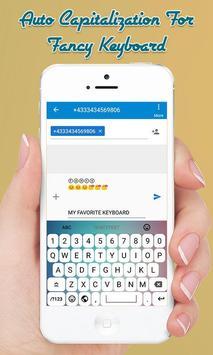 Fancy Stylish Fonts Keyboard - Fancy Text Keyboard screenshot 5