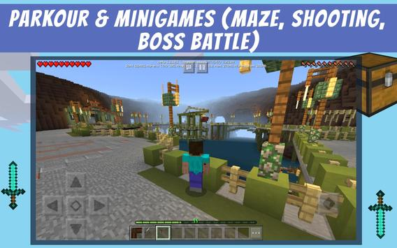 Mysterious Island - adventure map for mcpe für Android - APK ... on
