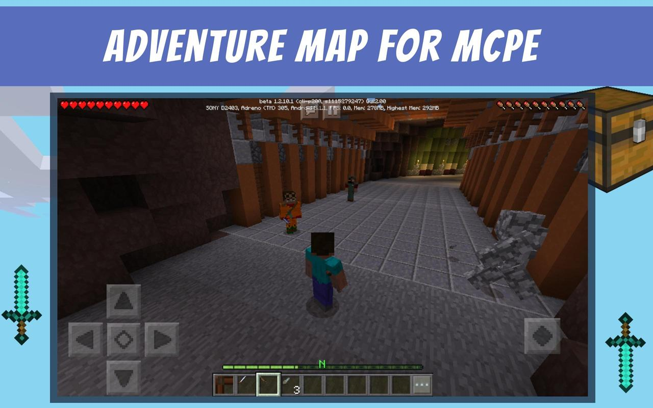Mysterious Island - adventure map for mcpe for Android - APK Download