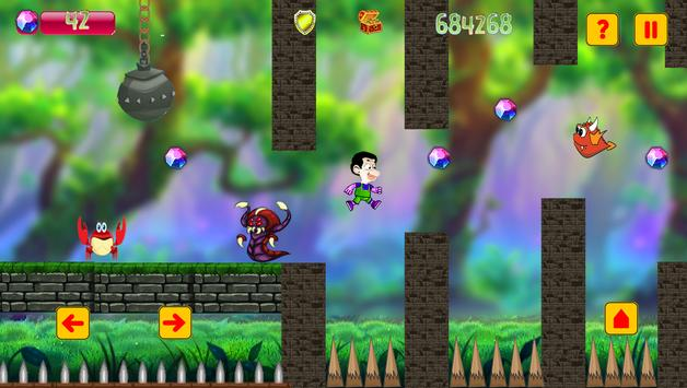 super bean run adventure world screenshot 1