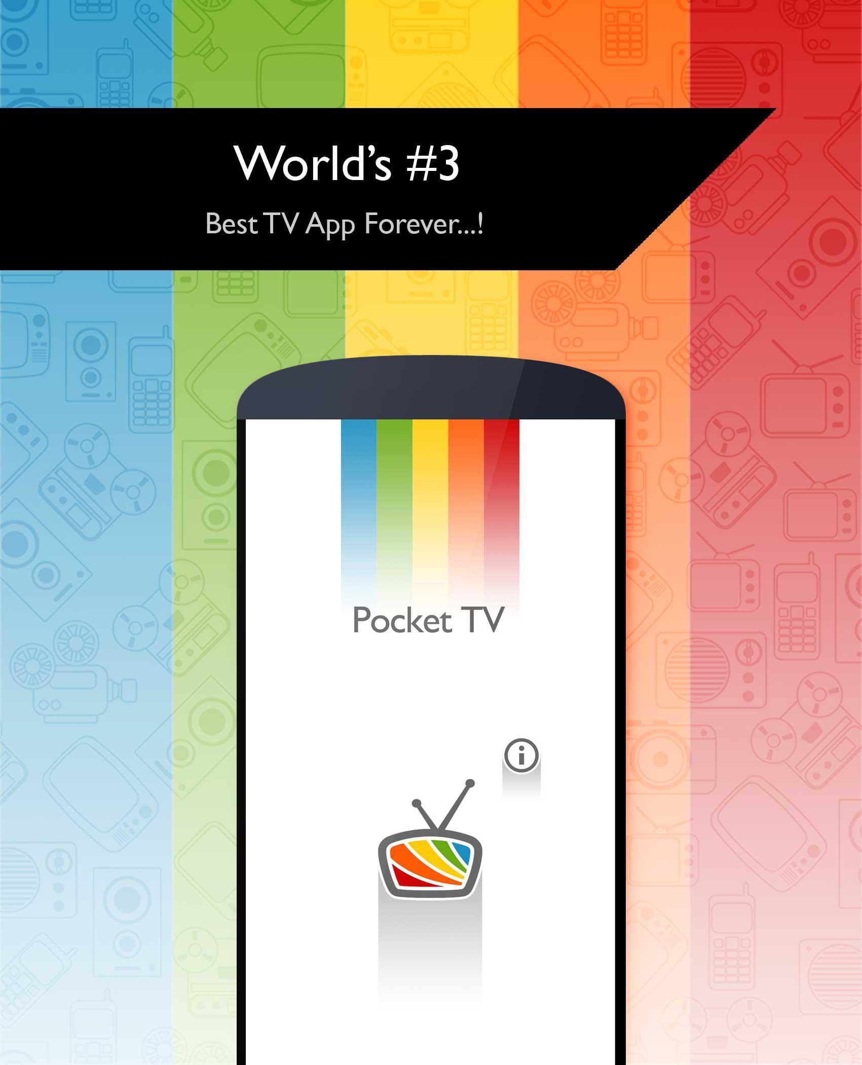 Pocket TV - Live Sports | News | Songs | Movies for Android