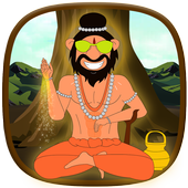 Talking Yog Guru Babaji Game icon