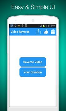 Reverse Movie Video Maker poster